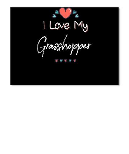 Details about  /I Love My Grasshopper Kids Children Pet Names Sticker Landscape