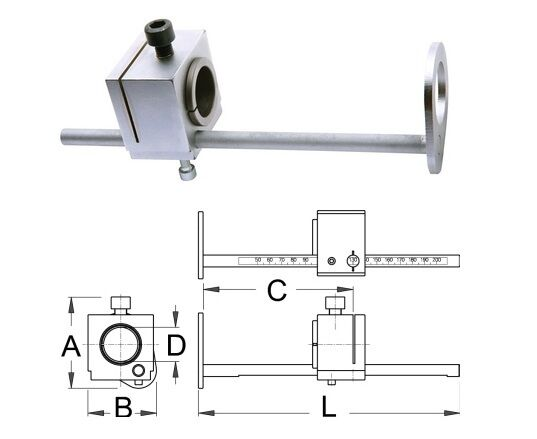 New Unior Steerer Cutting Guide Guide Guide (1604/2) for Professional Use a1407b