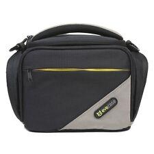 Large Digital Camera Nylon Case w/ Strap For Canon T6i T5i SX540 HS Nikon D7200