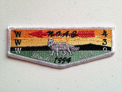 Boy Scout OA Miwok Lodge 439 1994 NOAC Flap 4218BB