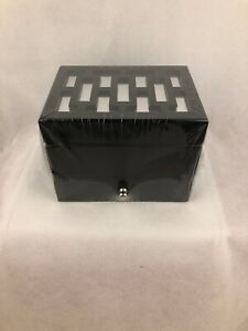 Hives-Honey-Amy-Jewelry-Box-Black-Mirrored-Drawer-Felt-Lined-Divided-Compartment