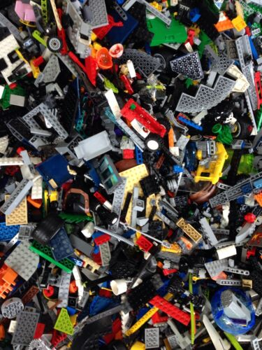 3000 Legos Bricks & Parts Bulk Cleaned Read Description Build Imagine