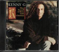 KENNY G Have yourself a Merry 2 TRK SAMPLER RARE PROMO Radio DJ CD single 1994