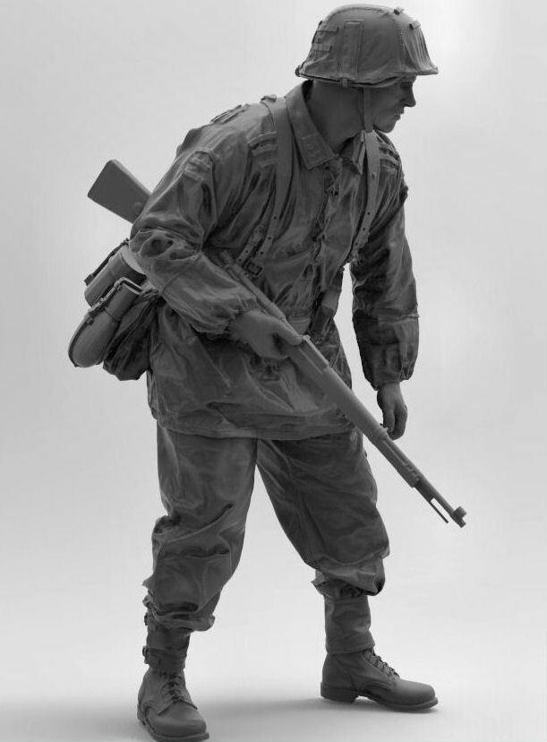 Waffen SS Infantryuomo 1 9 scala