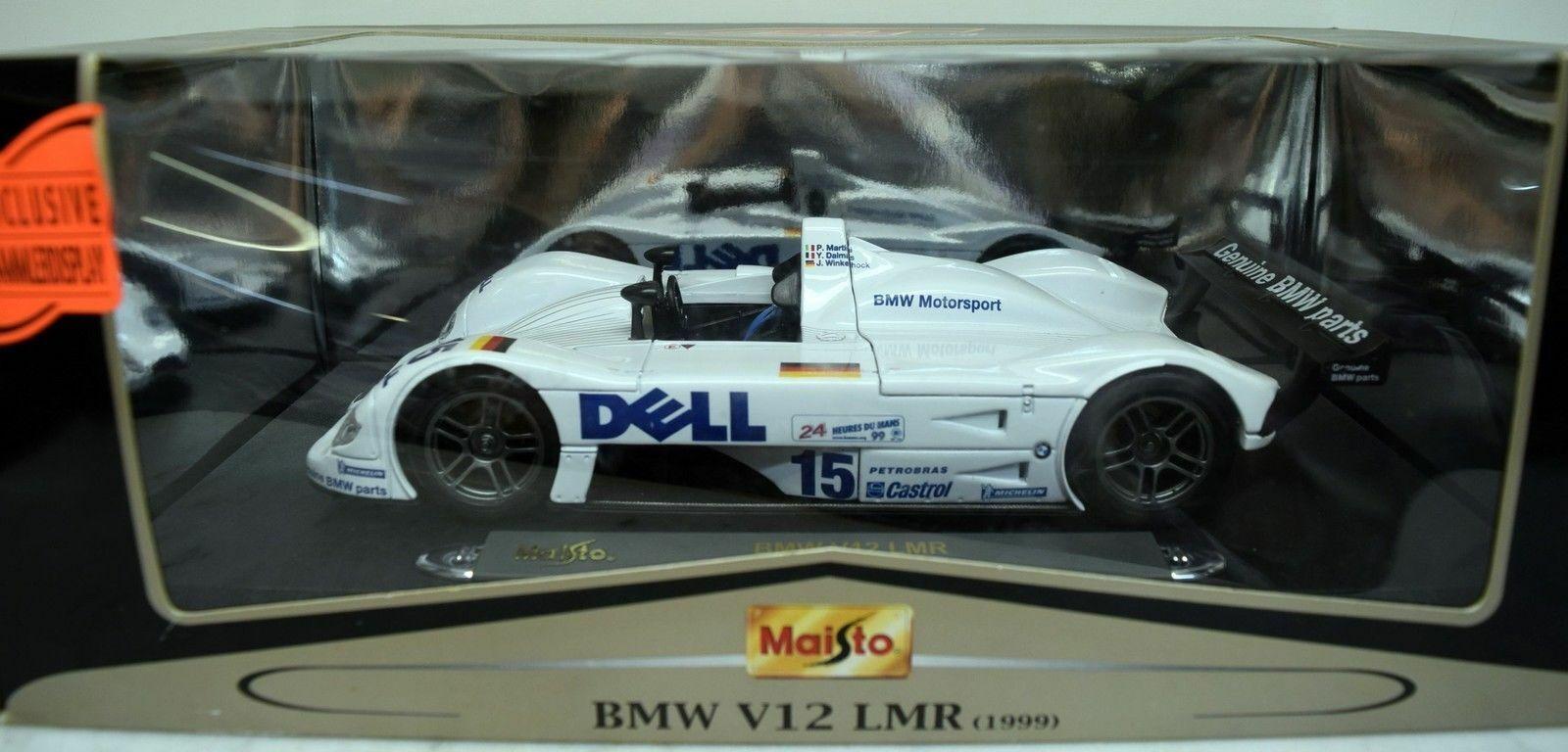 BMW V12 LMR LE MANS 1999 MAISTO 1 18