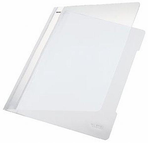 bunt sortiert transparenter Deckel 20 x Falken Schnellhefter DIN A4 aus PP