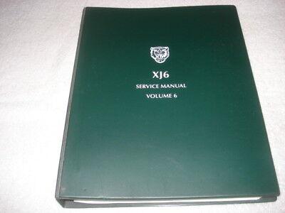 Jaguar XJ-6 Service Manual Volume 6, Electrical Component ...