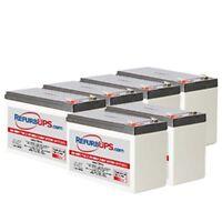 Emerson-liebert Gxt3 3000 (gxt3- 3000rt120) Compatible Replace Battery Kit