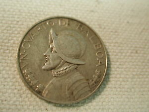 1947 Panama 1/4b K11.1 Very Fine Coins North & Central America