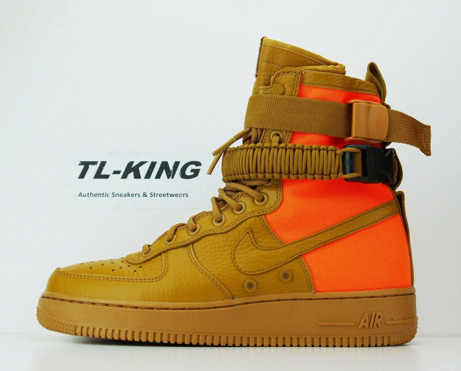 Nike SF AF1 QS Desert Ochre Special Field Air Force 1 903270-778 Msrp  180 CP