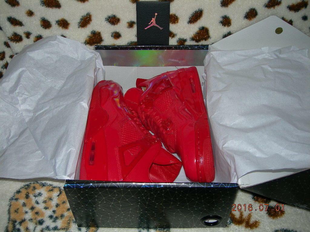 NIKE AIR JORDAN 11LAB4 UNIVERSITY RED US 8-14 retro 719864-600 3lab5 bred 3 4 5 Cheap women's shoes women's shoes