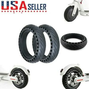 Solid Tires Wheel Explosion-proof Tire Replace for Xiaomi Mijia M365 8.5inch USA