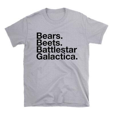 Bears Beets Battlestar Galactica The Office Shirt 100 Cotton Shirt Dwight Ebay