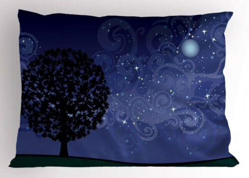 Tree Pillow Sham Decorative Pillowcase 3 Sizes for Bedroom Decor