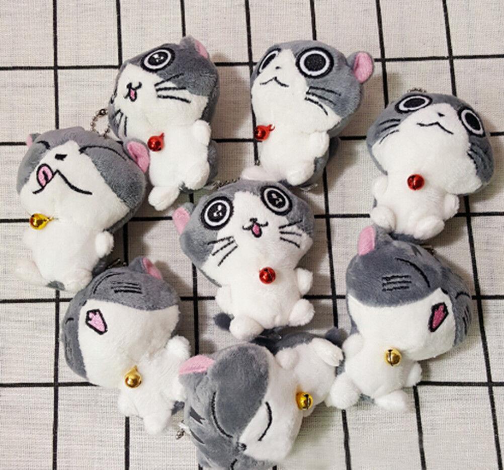 Lovely Cat Collection Mini Small Plush Stuffed Dolls Cute Small Mini Pendant Toys Gift PopU 76f037