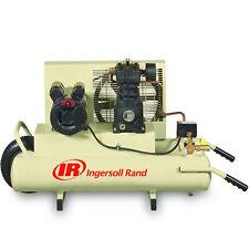 Ingersoll Rand 2-HP 8-Gallon Electric Dual Voltage Wheelbarrow Air Compressor