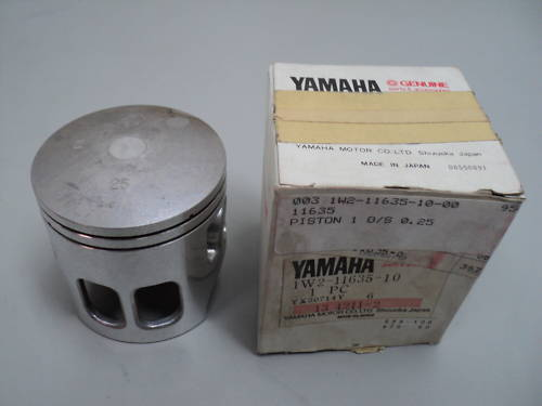 1978-79 YAMAHA IT175 1ST OS PISTON 0.25 PN 1W2-11635-10