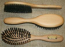 Haarbürste  Wildschweinborste, Naturhaarbürste, Wildschwein, Holzbürste, neu