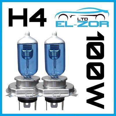 2x 106 H4 55W 5000K HID Xenon Bombillas Halógenas Super Blanco de actualización de plasma 12V 472