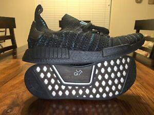 buy popular ce180 4ce9e Details about Adidas Originals NMD_R1 STLT Parley Primeknit Shoes Size 13  Core Black AQ0943