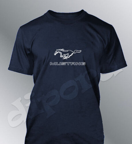 T-Shirt Customised Mustang S M L XL XXL Man Gt500 Shelby Muscle Car