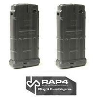 Rap4 T68 468 Dmag D-mag 14 Rd Round Tactical Paintball Magazine - 2 Pack