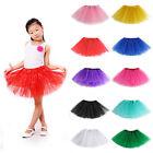 Girls Kids Ballet Tutu Princess Dress Up Dance Wear Costume PartyToddler Skirt