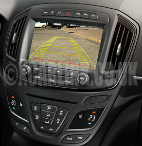 Details about Vauxhall/Opel Insignia R700 Navi 900 Intellilink Rear Camera  Video Interface 13>