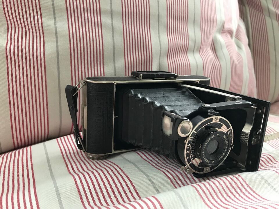 Kodak, Kodak Junior 620 folde kamera, Perfekt