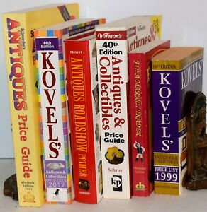Lot Of 6 Books About Antiques Collectibles Free Shipping Ebay