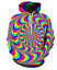 Hypnotism-Colourful-3D-Print-Women-Men-039-s-Hoodie-Sweatshirt-Pullover-tops-Jumper thumbnail 37