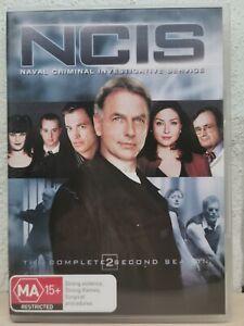 NCIS-Season-2-DVD-2006-6-Disc-Set-R4-Terrific-Condition