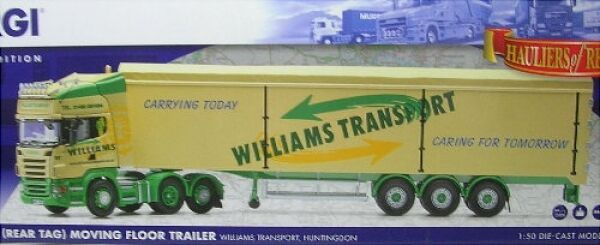 Scania R williams transporte Huntingdon