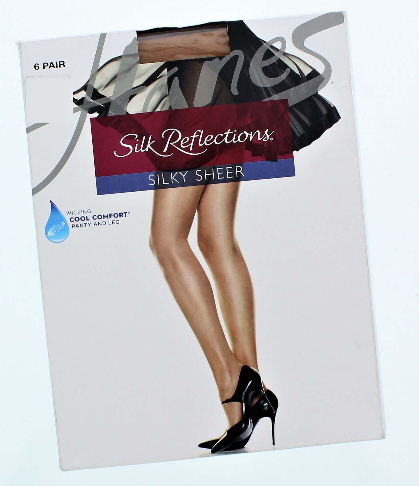 5559704aa4304 Silk Reflections Hosiery Size AB Silky Sheer nzisff1404-Pantyhose & Tights