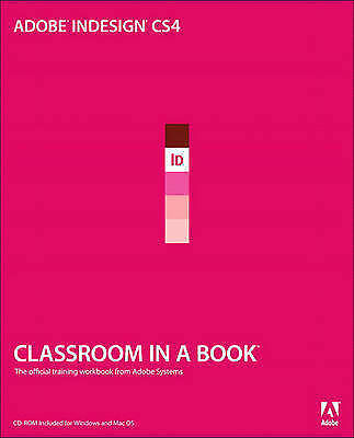 """""""VERY GOOD"""" Adobe InDesign CS4 Classroom in a Book (Classroom in a Book (Adobe))"""
