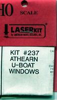 Ho Scale: American Model Builders 237: Athearn U-boat 9 Window Set
