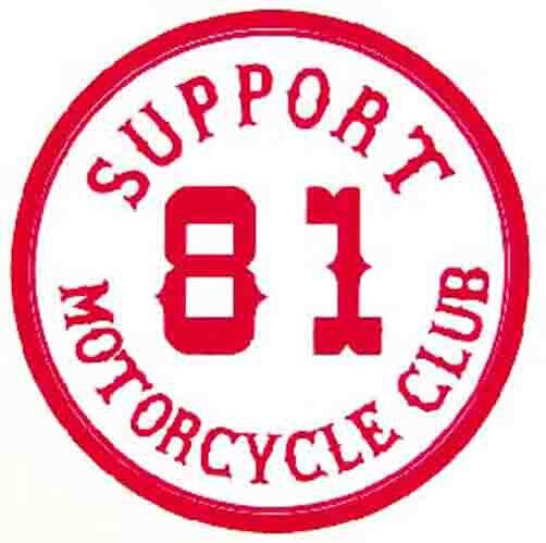 81 >> Support 81 Motorcycle Club Biker 1960 S Vintage Looking Travel