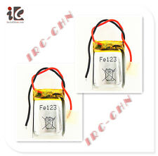 2X BATTERY 3.7V LI-POLY 160 mAH FOR SYMA S107G RC HELICOPTER SPARE PARTS S107-19