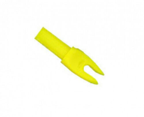 """Easton /""""H/"""" Nock Large Groove .098 Yellow 12 Pack"""