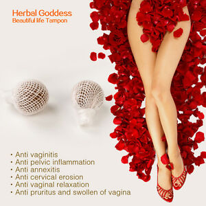 Details about 6/10/20PCS Woman vaginal detox tampons clean point original  womb healing pearls