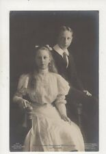 Prinz Joachim & Victoria Luise Von Preussen RP Postcard Germany Royalty 047b