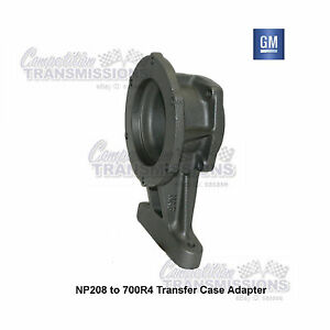 Image Is Loading NP208 241 Transfer Case To 700R4 Transmission Adapter