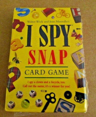 I SPY SNAP Card Game Briarpatch Brand New Factory Sealed