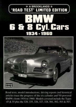 BMW BOOK V8 PORTFOLIO BROOKLANDS