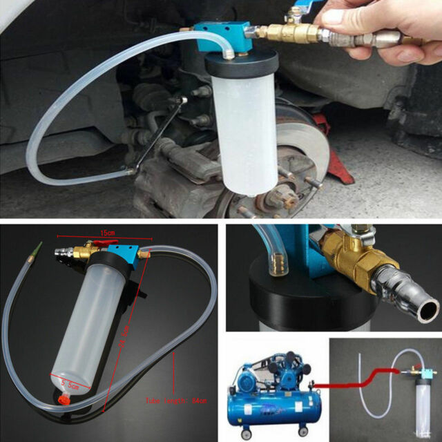 Car Truck Brake System Fluid Bleeder Hydraulic Clutch Oil Exchange One Man Tool