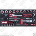 KS Tools SCS 1/4+1/2 Jeu de douilles 47 pièces 1/3 Insert de système 783.3047