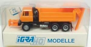 IGRA-Nr-636-Tatra-815-Pritschen-Lkw-mit-Schneepflug-OVP