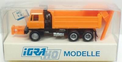 Igra Nr.636 Tatra 815 Camion Battaglia Con Spazzaneve - Conf. Orig. Qualità Eccellente