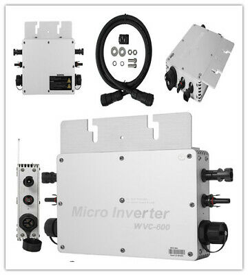 600W MPPT Grid Tie Micro Solar Inverter 110V//220V  Light Weight Simplify