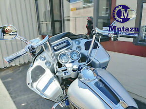 "1 1//4/"" BBlack 14/"" Prewired Handlebar Kit 2007 Harley-Davidson Ultra Classic"